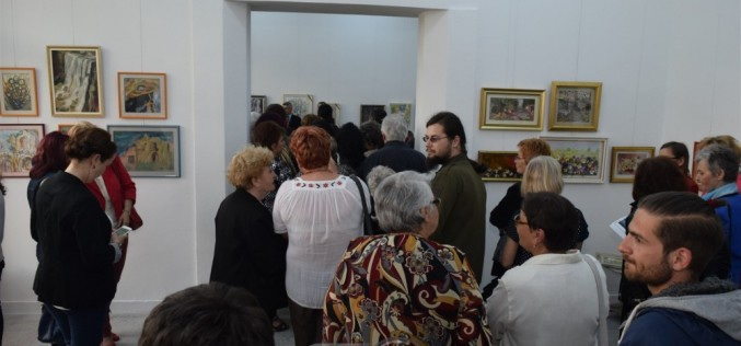 Membrii Uniunii Artiștilor Plastici Dej, expoziție la Muzeul Național al Țăranului Român