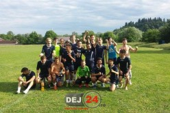 Juniorii de la CFR Dej au încheiat campionatul pe locul 2, după victoria zdrobitoare cu Triteni – FOTO
