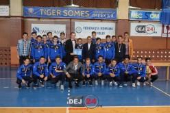 Juniorii CFR Dej, premiați de primar după ce au încheiat campionatul pe a II-a poziție – FOTO