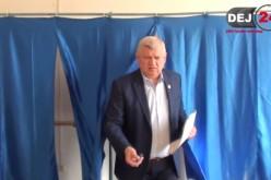 DEJ | ALEGERI LOCALE 2016. Cornel Itu, unul dintre cei mai harnici votanți din oraș – FOTO/VIDEO