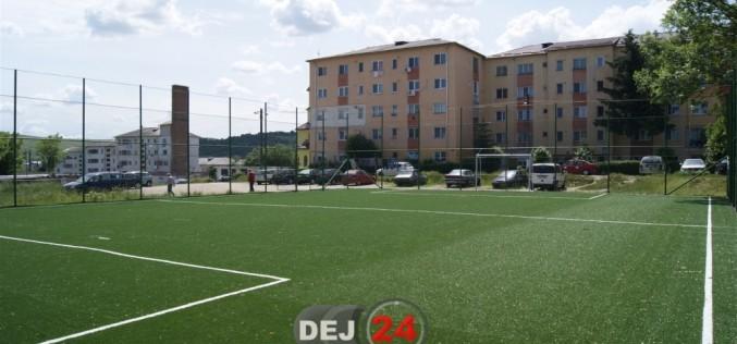 Dej | Patru terenuri de sport au fost reabilitate şi deschise – FOTO