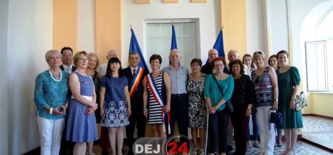 Delegaţie din Le Quesnoy, vizită la Primăria Dej – FOTO