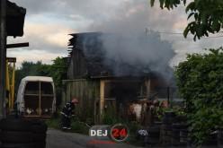 Incendiu la o locuință din Dej. Flăcările s-au extins și la acoperiș – FOTO/VIDEO