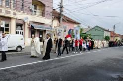 "Pelerinaj și hram la Biserica ""Sf. Anton"" din Dej – FOTO"