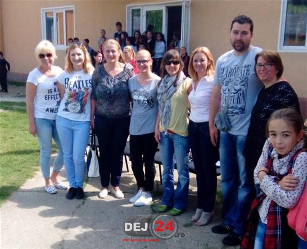 Profesori din Polonia vizita Scoala Gimnaziala Chiuiesti (1)
