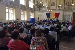 Aleșii locali din Dej și-au ocupat astăzi fotoliile în Consiliul Local – FOTO/VIDEO