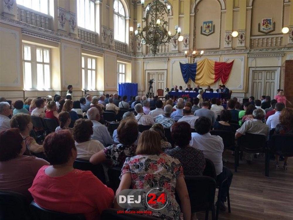 Sedinta de constituire a noului Consiliu Local al Municipiului Dej (2)