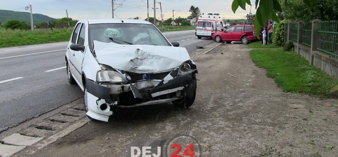 Accident la Livada, pe DN1C. Două mașini au fost implicate – FOTO/VIDEO