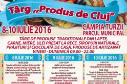 """Târgul """"Produs de Cluj"""" ajunge la Câmpia Turzii"""