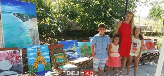 """,,Toţi copiii azi zâmbesc"""", eveniment caritabil desfășurat la Dej – FOTO"""