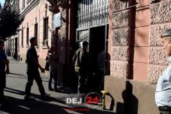 GREVĂ GENERALĂ la Primăria Municipiului Dej. O parte din angajați și-au întrerupt activitatea – FOTO/VIDEO