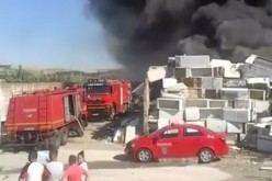 INCENDIU VIOLENT în Apahida. O hală a luat FOC – VIDEO