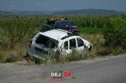 ACCIDENT la Sânmărghita! Nu s-a asigurat și a băgat un om în spital – FOTO/VIDEO