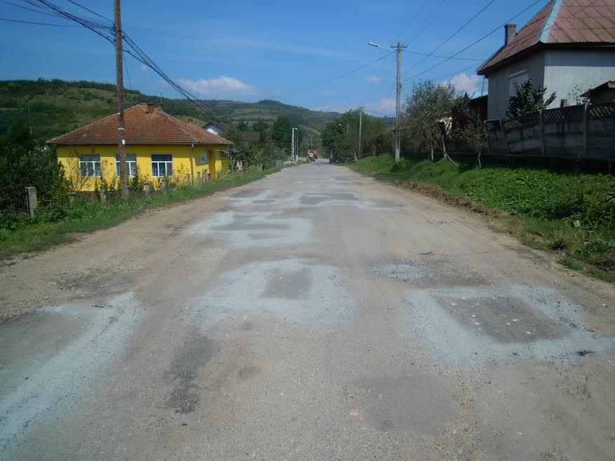 DJ 172A reabilitare asfaltare modernizare Cluj