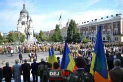 Militari din Dej, prezenți la manifestările prilejuite de împlinirea a 100 de ani a Diviziei 4 Infanterie Gemina – FOTO