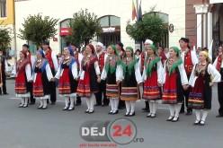 """Municipiul Dej, mai colorat ca niciodată la Festivalul Folcloric """"Szent Istvan"""" – GALERIE FOTO/VIDEO"""