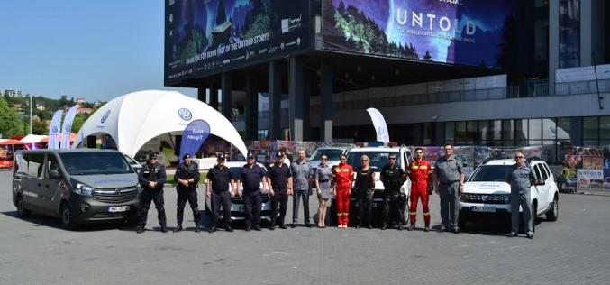 Peste 1.200 de jandarmi, polițiști, pompieri și piloți ai Unității Speciale de Aviație Cluj-Napoca asigură măsurile de siguranță la Untold