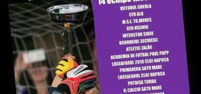 Academia de Fotbal Paul Papp va fi prezentă la Cupa Bucuriei 2016