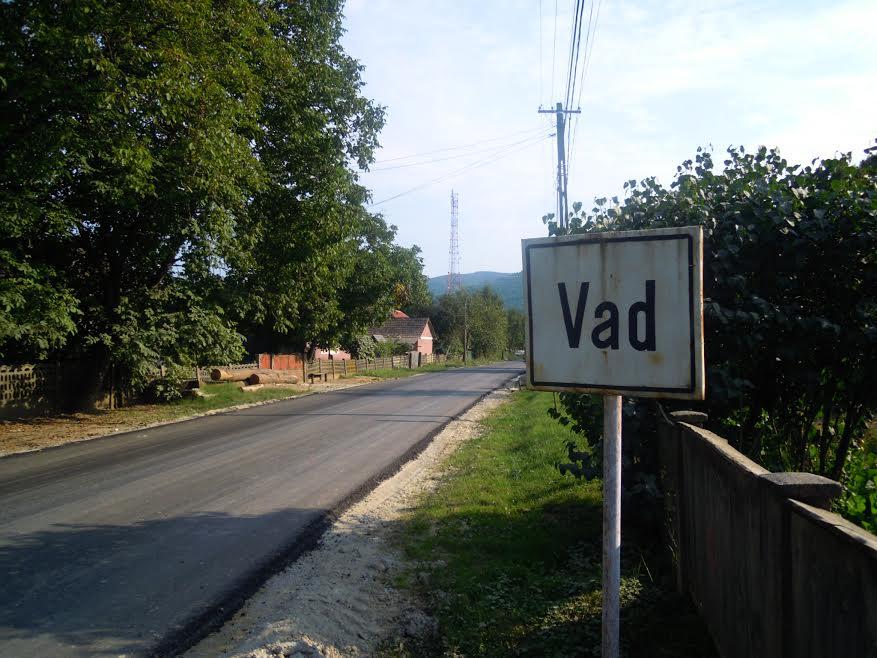 lucrari asfaltare modernizare Vad Valea Groșilor DJ 109E Cluj