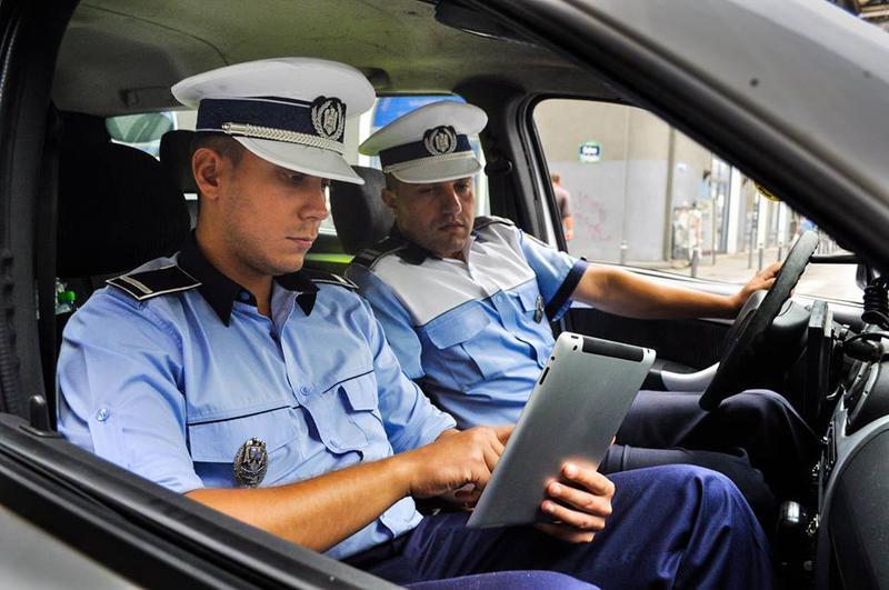 sistem tablete pentru politisti
