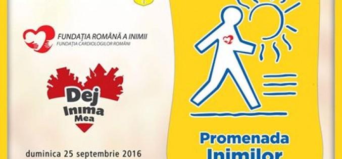 """O nouă ediție """"Promenada Inimilor"""", duminică, la Dej"""