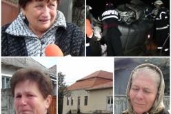 Comuna Câțcău, ÎN DOLIU. Cele două femei DECEDATE în accident, plânse de familie și vecini – VIDEO