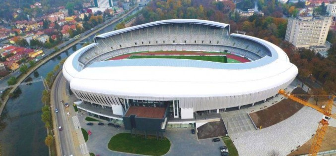 Cum se prezintă gazonul pe Cluj Arena, înaintea meciului dintre România și Chile