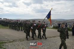 Ziua Armatei României a fost marcată și în Garnizoana Dej – GALERIE FOTO/VIDEO