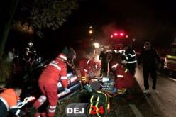 ACCIDENT MORTAL în Dej! Un tânăr a DECEDAT, alți patru au ajuns la SPITAL – FOTO/VIDEO
