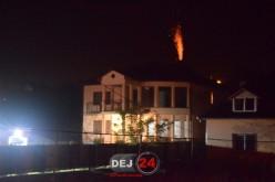 Incendiu pe strada Crângului din Dej. Au intervenit pompierii – FOTO/VIDEO