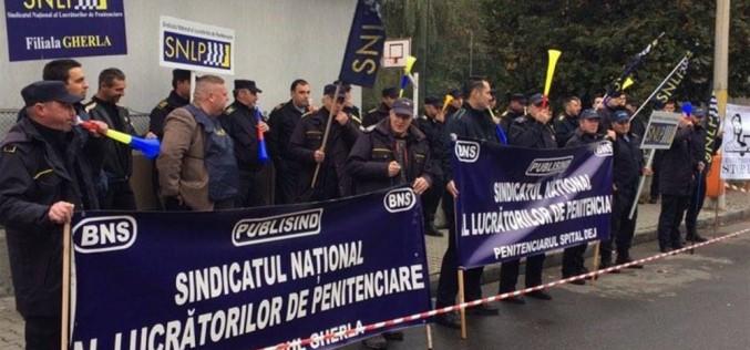 Angajații din penitenciare au declanșat acțiuni de protest pe termen nedeterminat