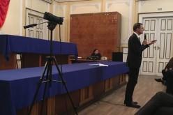 Acad. Ioan Aurel Pop, rectorul UBB, a fost prezent ieri la Dej – FOTO