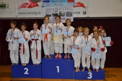 CS Budokan Ryu, 19 medalii la Cupa Tiger la Karate WUKF – FOTO