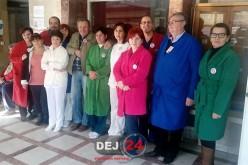 GREVA GENERALĂ de la Spitalul Municipal Dej continuă – FOTO