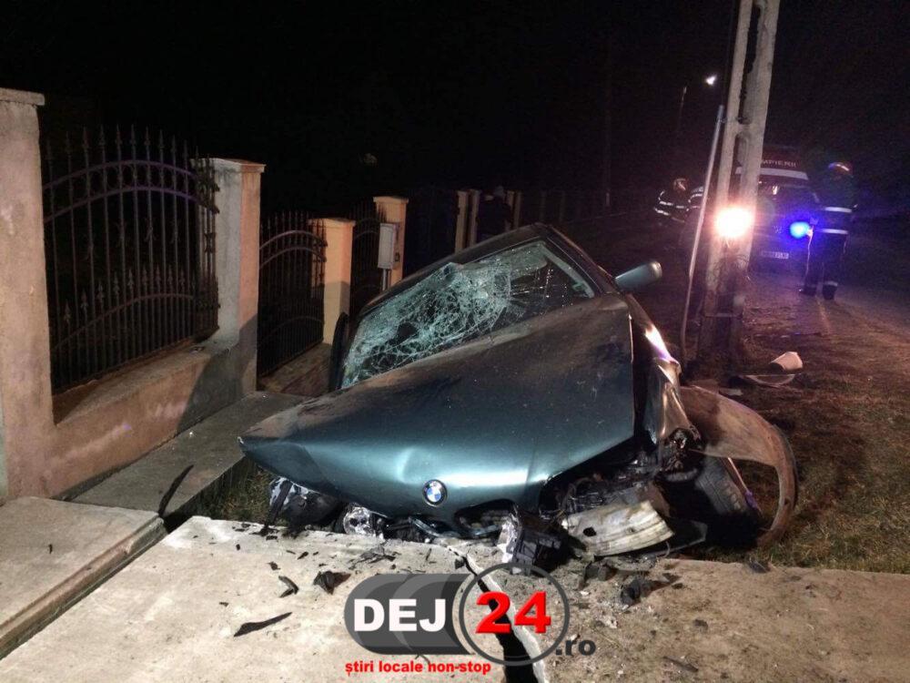 Accident Bont masina cap de pod