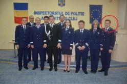 Polițist din Dej, avansat în grad pentru rezultate profesionale foarte bune – FOTO