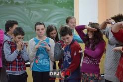 Jocuri şi activităţi atractive la Clubul IMPACT de la Chiuieşti