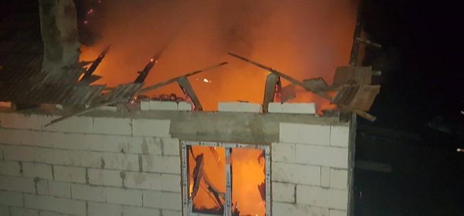 TRAGEDIE în apropiere de Dej. Un bărbat A MURIT într-un incendiu