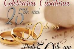 Cuplurile care au împlinit 25, 50 sau peste 50 de ani de căsătorie vor fi premiate la Mica
