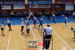 """VOLEI – Unirea Dej a pierdut cu 3-0 partida de """"acasă"""" cu CSM București – VIDEO"""
