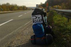 Tânăr din Dej, în aventura vieții lui! Cu autostopul prin Europa fără niciun ban – FOTO