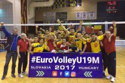 """VICTORIE! """"Tricolorii"""" de la LAPI Dej s-au calificat la Campionatul EUROPEAN de volei (U19)! – FOTO"""