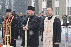 Pr. Ioan Buftea, protopopul Dejului, prezent la instalarea noului preot al Garnizoanei Bistrița – FOTO