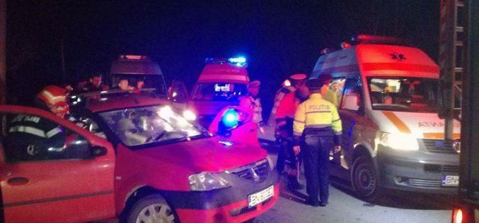 GRAV ACCIDENT între Dej și Bistrița! O femeie a rămas încarcerată și doi copii au ajuns la spital – FOTO