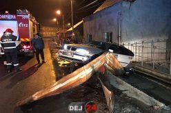 DRUM BLESTEMAT! DUBLU ACCIDENT pe strada 1 Mai din Dej. Patru evenimente rutiere în ultimele zile – FOTO/VIDEO