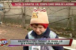 Băiețel de doar 7 ani, din Mănășturel, părăsit de mamă! Traiește cu tatăl într-o cocioabă. Ce sacrificii face bărbatul pentru fiul său – FOTO/VIDEO