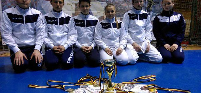 ȘASE medalii pentru CS Budokan Ryu la Campionatul Național de Karate – FOTO