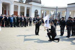 Astăzi se împlinesc 195 de ani de la atestarea documentară a Poliţiei Române. IPJ Cluj a primit drapelul unității – FOTO
