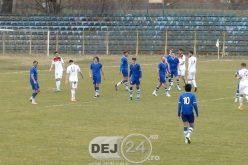 FC Unirea Dej ÎNVINGE Jucu cu 1-0. Giurgean înscrie un EUROGOL de trei puncte – FOTO/VIDEO