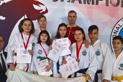 "Șapte medalii pentru sportivii ""Vulturii"" Dej la Serbia Open ITF Taekwon-do Championship – FOTO"